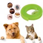 dooda ปลอกคอ สุนัข แมว ไล่เห็บ หมัด ไร และยุง สีเขียวอ่อน