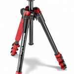 Manfrotto Befree Aluminum Red Tripod with Ball Head