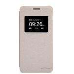 nillkinแท้ เคสฝาพับเซนโฟน5 รุ่น Sparkle Leather Case สีทอง