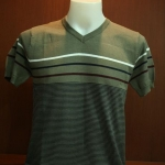 เสื้อยืดผู้ชาย คอวี แขนสั้น Cotton เนื้อดี งานคุณภาพ รหัส MC0759 Size M