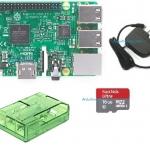 Raspberry Pi 3 Model B (Rpi Kit 4) (New Model 2016) Green Case