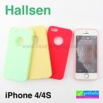เคส iPhone 4/4s Hallsen ลดเหลือ 60 บาท ปกติ 225 บาท