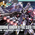 HGBF 1/144 CROSSBONE GUNDAMX1 FULL CLOTH VER.GBF