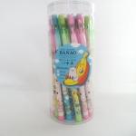 ดินสอต่อไส้มียางลบ BANAO (ขายส่งกระป๋องละ 30 ด้าม)