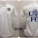 เสื้อโปโล เชลซี สีขาว CCW