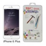 ฟิล์มกระจก iPhone 6 Plus เต็มจอ 9MC ความแข็ง 9H ราคา 60 บาท ปกติ 180 บาท