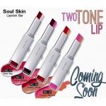 Soul Skin Lipstick Bar ลิป2 โทน ในแท่งเดียว เทรนด์ใหม่จากเกาหลี