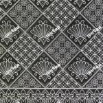 ผ้าถุงขาวดำ ec2952bk