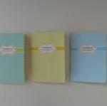 สมุด แพ็คโหล คละสีตามรูป รหัส 1486-3