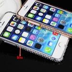 เคสไอโฟน6/6S เคส bumper สีเงิน