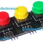 RGB Big Button Module (3 สี 3 ปุ่ม)