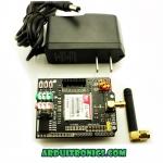 GSM/GPRS Shield+Antenna + Adapter (ยี่ห้อ Electric Freak) ใช้งานร่วมกับSIM 2G