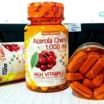Acerola Cherry 1,000 mg. by Duo Zapp วิตามินซี จากอะเซโรล่า เชอร์รี่