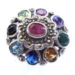 แหวนพลอย ชนิดต่าง ๆ