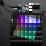 RGB Matrix Hat + RTC For Raspberry Pi (by Adafruit)