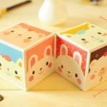 [C522] กระดาษโน๊ต-cute animal magic