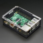 Raspberry Pi 2 / B+ Case - Smoke Base w/ Clear Top (Adafruit)