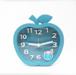 นาฬิกาปลุกแอปเปิ้ลสีฟ้า รหัส 1604