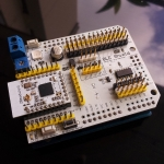 New Bluetooth 4.0 BLE Shield Arduino Expansion Module + Bluetooth 4.0 BLE module ZBmodule CC2540