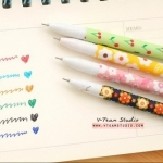 [A1] ปากกาเจลสี (Set 6 สี)