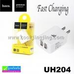 ที่ชาร์จ Hoco Double USB Charger UH204 ราคา 135 บาท ปกติ 340 บาท