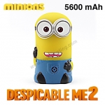 แบตสำรอง Power bank Minions Despicable ME2 5600 mAh