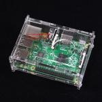 Raspberry pi 3 Model B/ 2 Model B / B+ New Case with Fan Support