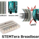 STEMTera (Breadboard with built-in Dual Microcontroller – ATmega328P & ATmega32U2) - Sparkfun