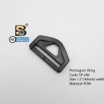 """ห้าเหลี่ยม 1.5"""" รู (แข็ง)/ Pentagon Ring 1.5"""""""