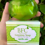 สบู่ ชาเขียว BFC (BFC Greentea Soap)