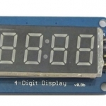 Seven Segment 4-Digit Clock Display 0.36 Inches (Catalex)