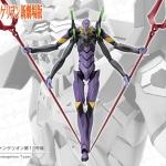 Rebuild of Evangelion 1/400 EVA-13 Plastic Model