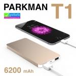 PARKMAN BOSS T1 Power bank แบตสำรอง 6200 mAh ลดเหลือ 305 บาท ปกติ 760 บาท