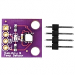 GY-213V-SI7021 High-Precision Digital Temperature and Humidity Sensor Module for Arduino (I2C Interface)