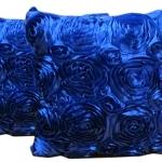 หมอนอิง เป็นรูปดอกกุหลาบเต็มใบ สวยๆ งามๆ ขนาด 16 นิ้ว ขายทีละเป็นคู่