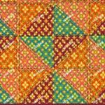 wb0165C สี่เหลี่ยมไทยตัดต่อ สีสด