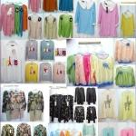 ยกถุงเสื้อผ้าแฟชั่นคละแบบส่ง 20 ตัวๆละ 59 บาทยอดโอนรวมส่งแล้ว 1380บ.