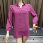 (2905L) เสื้อเชิ้ตชีฟอง