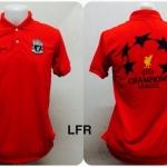 เสื้อโปโล ลิเวอร์พูล สีแดง LFR