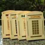 สมุดโน๊ตปกไม้ - Telephone Booth Notebook