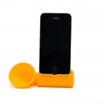 ที่วางโทรศัพท์ ขยายเสียงลำโพง Horn Stand สำหรับไอโฟน สีเหลือง