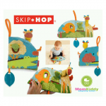 Skip Hop หนังสือผ้า Skip Hop Giraffe Safari Puppet Activity Book