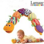 ตุ๊กตาหนอน Lamaze สีส้ม