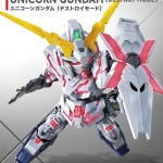SD GUNDAM EX-STANDARD 005 UNICORN GUNDAM (DESTROY MODE)
