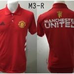 เสื้อโปโล แมนเชสเตอร์ ยูไนเต็ด ปี2015 สีแดง M3-R