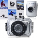 กล้องติดหมวก Action Camera HD 720P สีเงิน