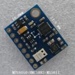 GY-86 IMU/10DOF (MPU6050 + HMC5883L + MS5611)