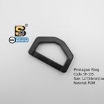 """ห้าเหลี่ยม 1.2"""" (แข็ง)/ Pentagon Ring 1.2"""""""