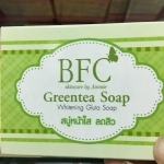 Sale !! BFC Greentea Soap (สำหรับผิวหน้า ) ก้อนละ50บาท