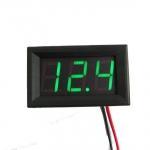 DC Digital Voltmeter Module (Green Color)